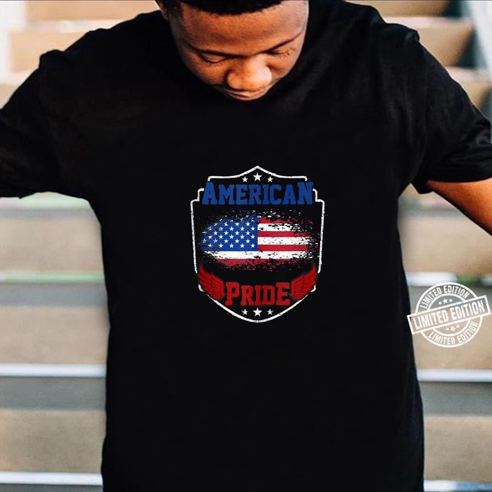 American Pride proud American USA Flag patriotic Shirt