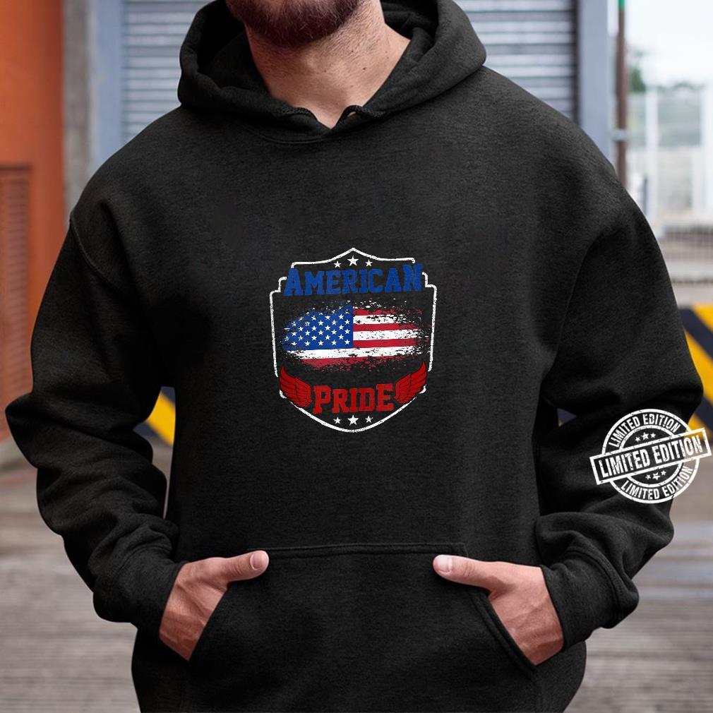 American Pride proud American USA Flag patriotic Shirt hoodie