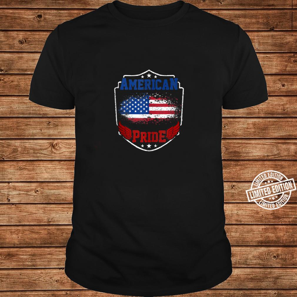 American Pride proud American USA Flag patriotic Shirt long sleeved
