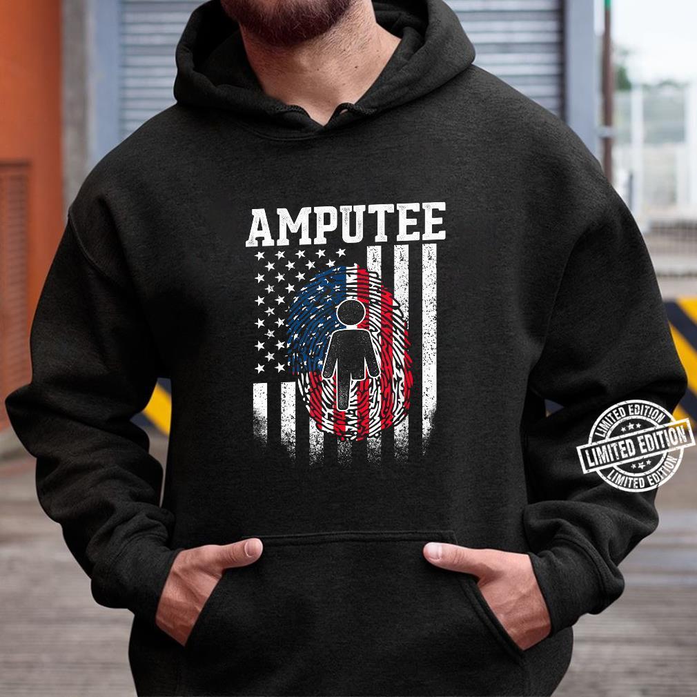 Amputee Humor Surgery Leg Arm Recovery DA1 Shirt hoodie