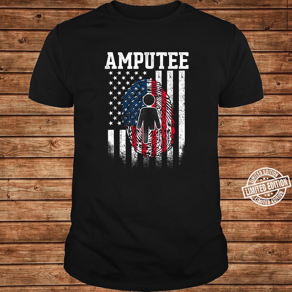 Amputee Humor Surgery Leg Arm Recovery DA1 Shirt long sleeved
