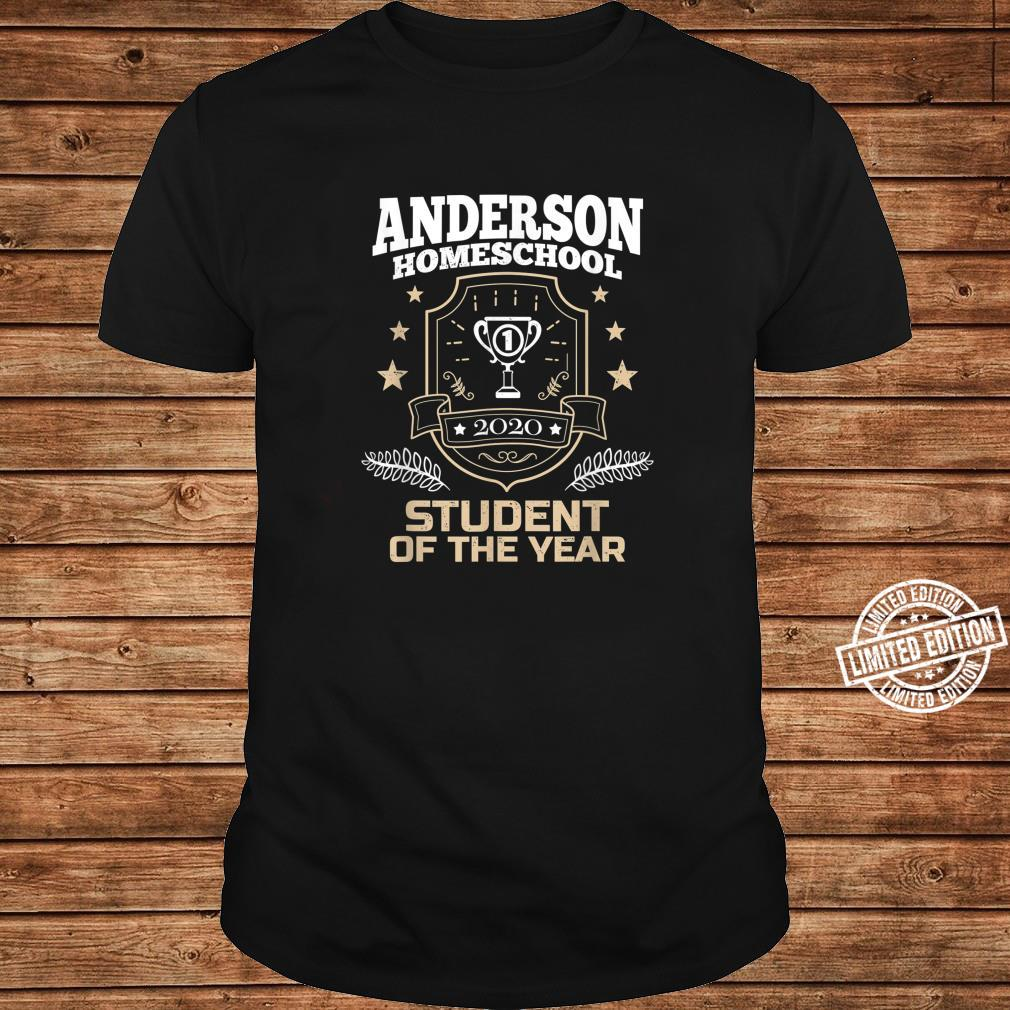 Anderson Homeschool Student of the Year 2020 Shirt long sleeved