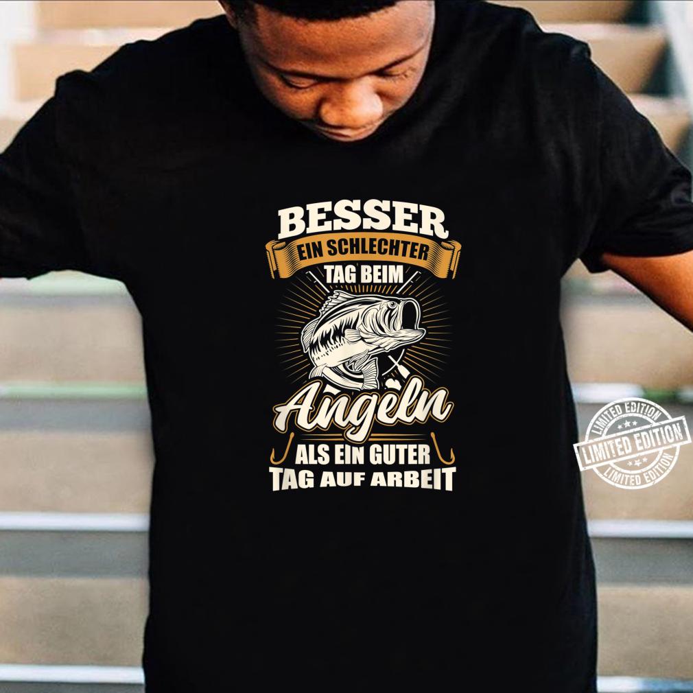 Angler Shirt Herren Jungs Angel Geschenk Fischer Fisch Shirt