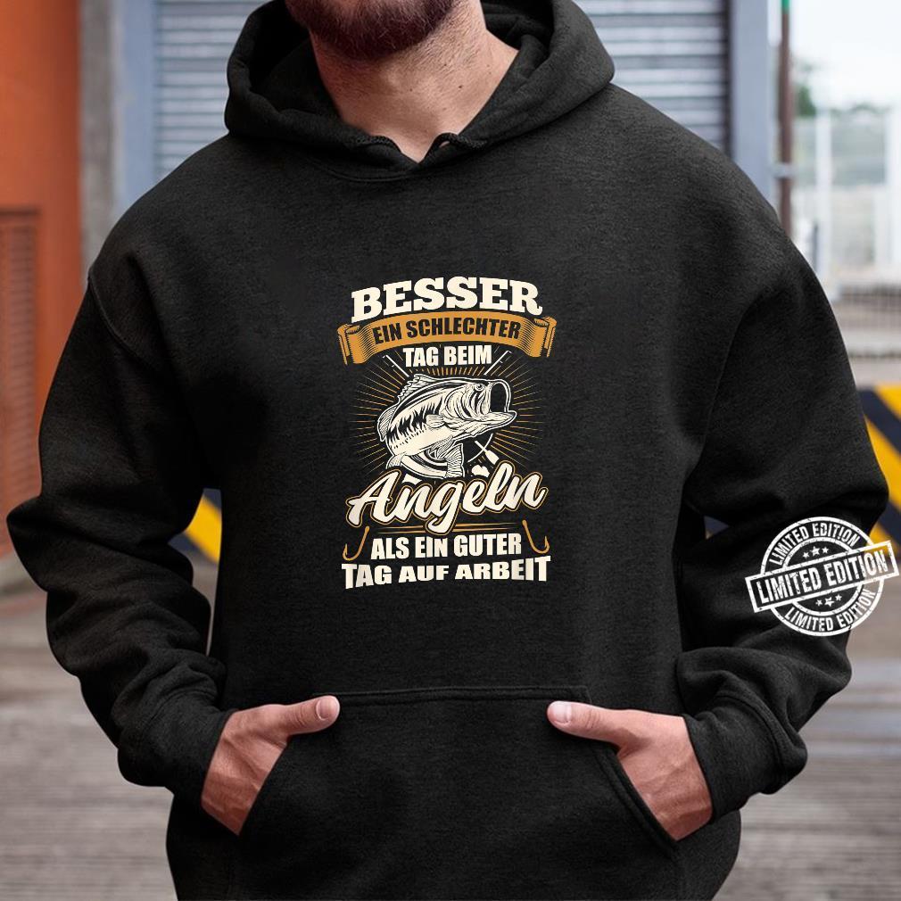 Angler Shirt Herren Jungs Angel Geschenk Fischer Fisch Shirt hoodie