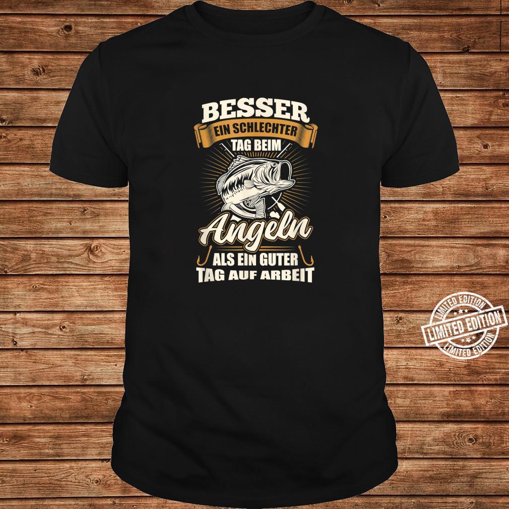 Angler Shirt Herren Jungs Angel Geschenk Fischer Fisch Shirt long sleeved