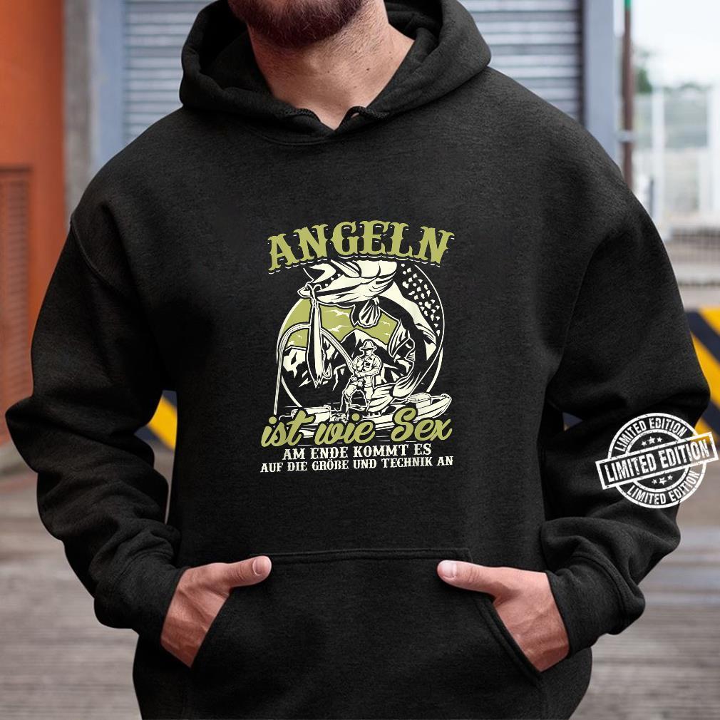 Angler Shirt Herren Sex Angel Geschenk Fischer Fisch Shirt hoodie