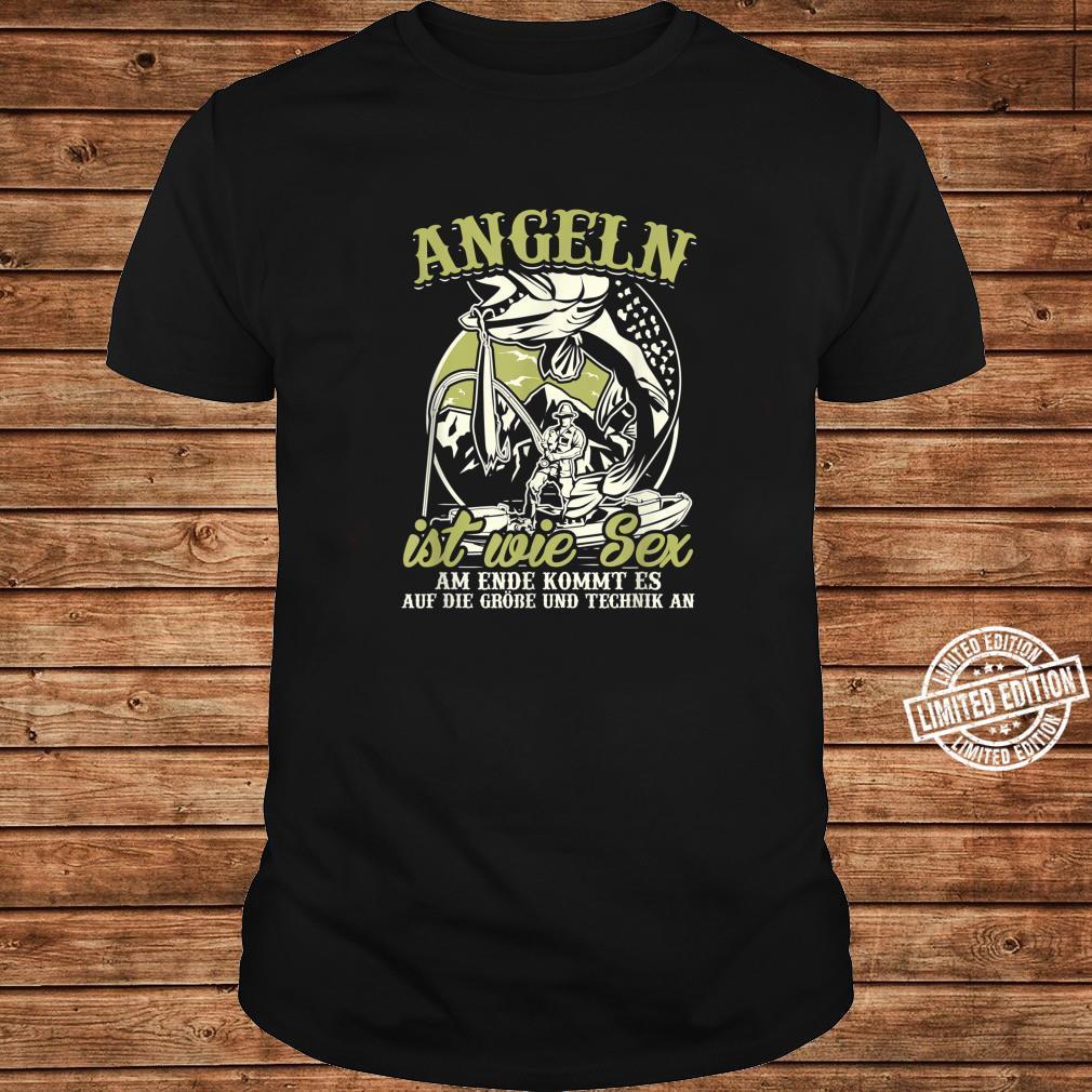Angler Shirt Herren Sex Angel Geschenk Fischer Fisch Shirt long sleeved