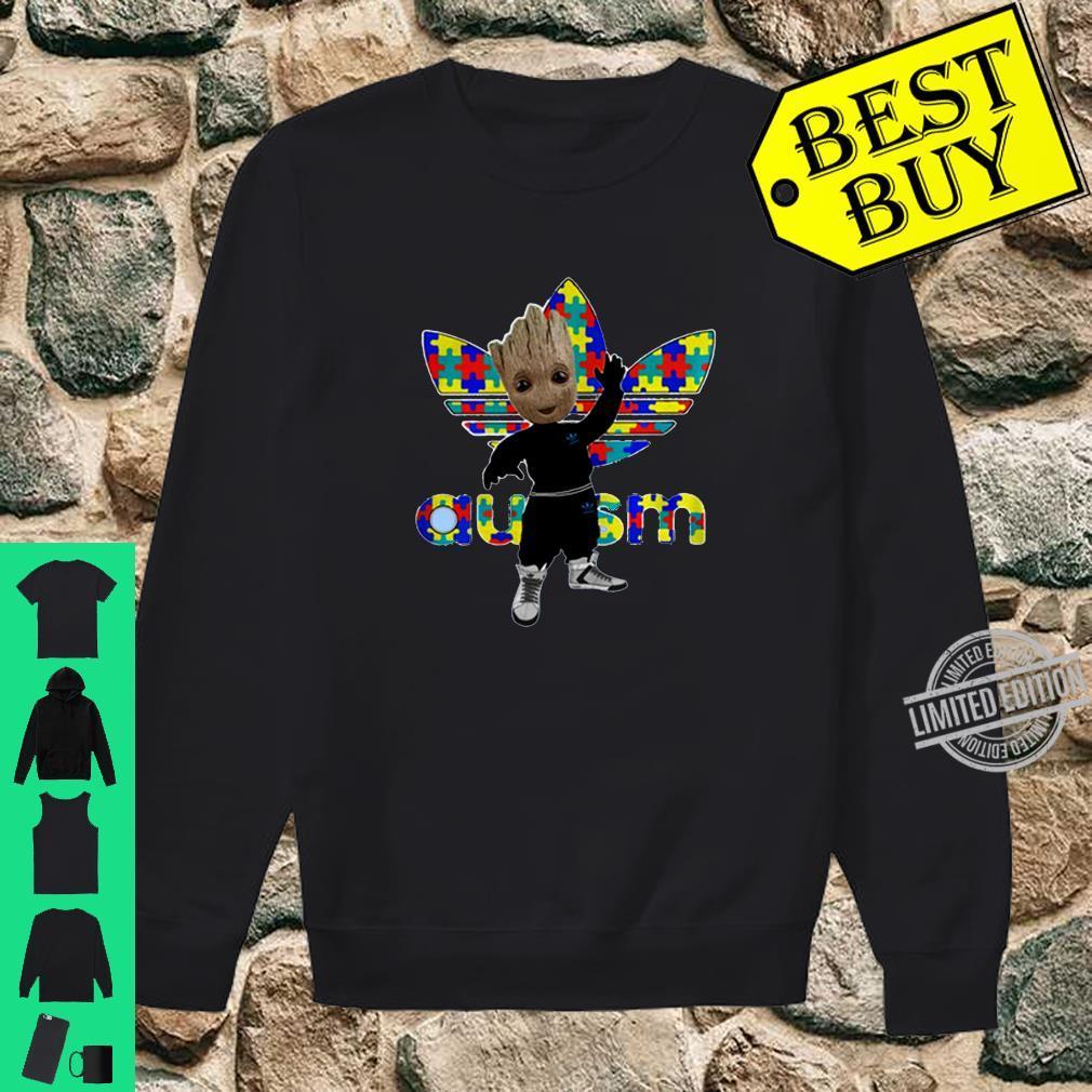 Baby Groot Adidas Autism Awareness Shirt [ 1010 x 1010 Pixel ]