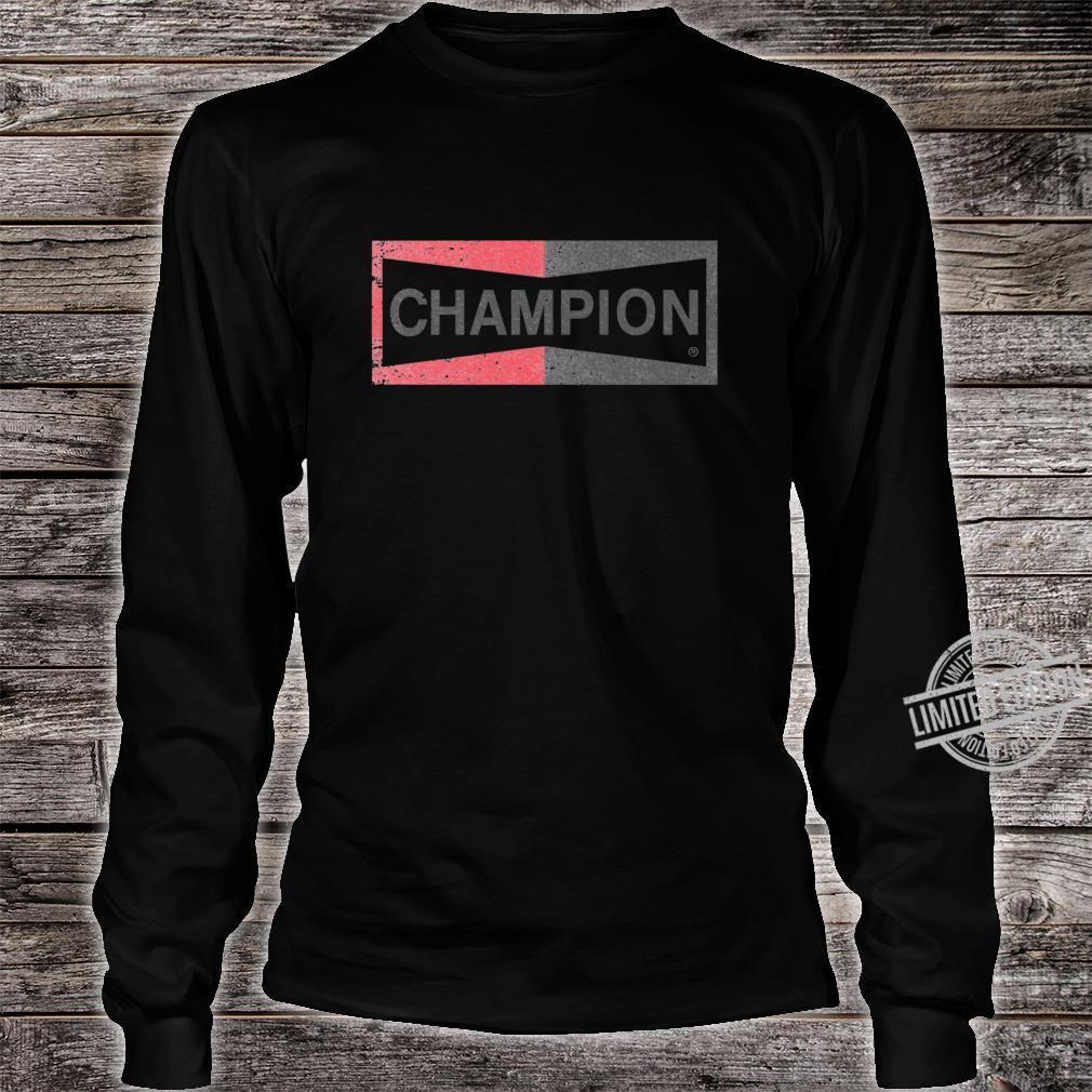 Champion Cliff Retro Slim Fit Shirt long sleeved
