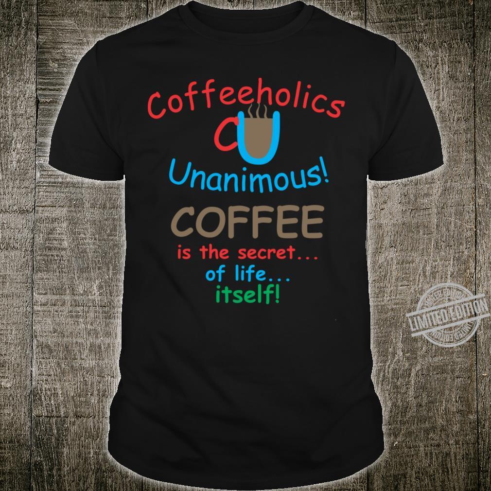 Coffee Drinks Shirt