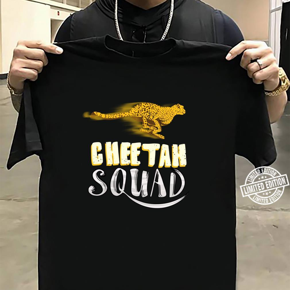 Cool Cheetah Squad Large Cat Group Fan Shirt sweater