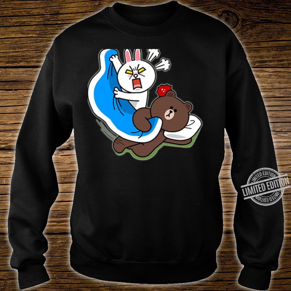 Cute brown bear and bunny Shirt sweater
