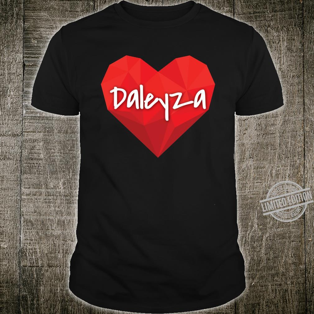 Daleyza in My Heart Forever Love Slim Fit Shirt