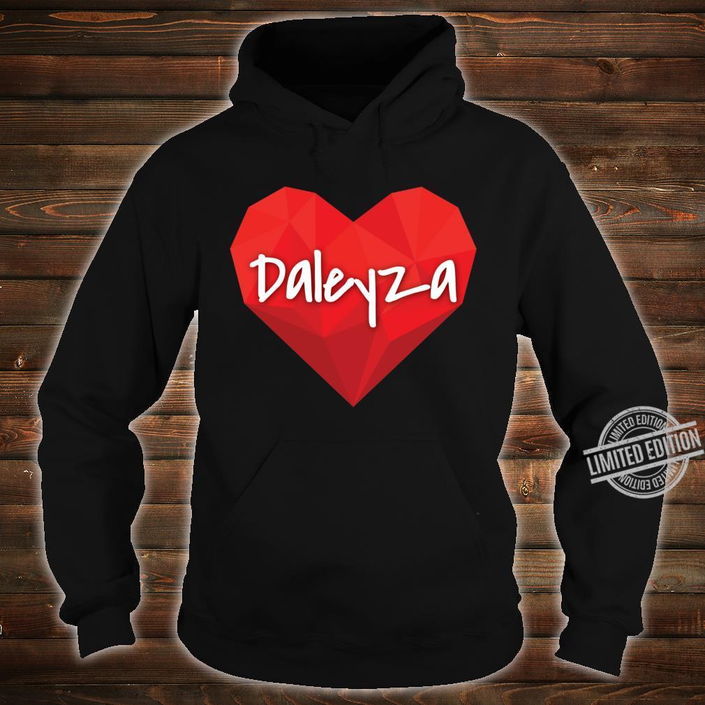 Daleyza in My Heart Forever Love Slim Fit Shirt hoodie