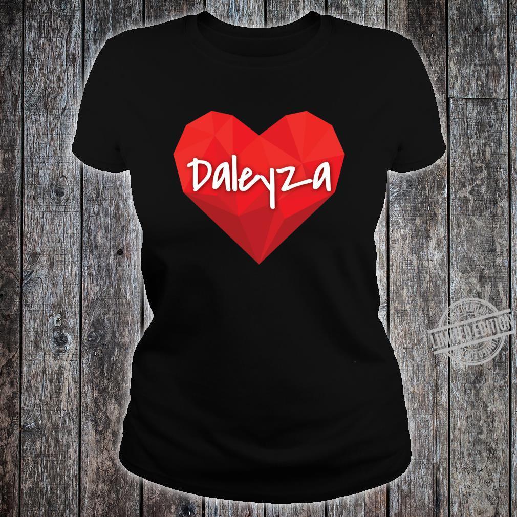Daleyza in My Heart Forever Love Slim Fit Shirt ladies tee