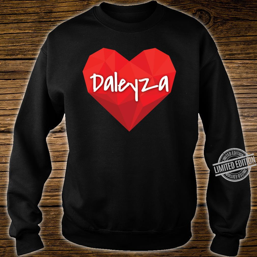 Daleyza in My Heart Forever Love Slim Fit Shirt sweater