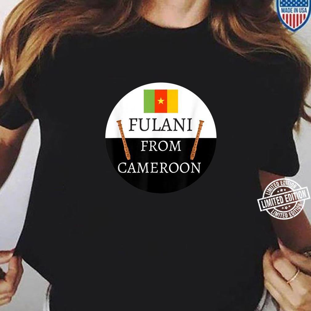 Fulani From Cameroon Culture, Islam, Fulbe Fula Shirt ladies tee