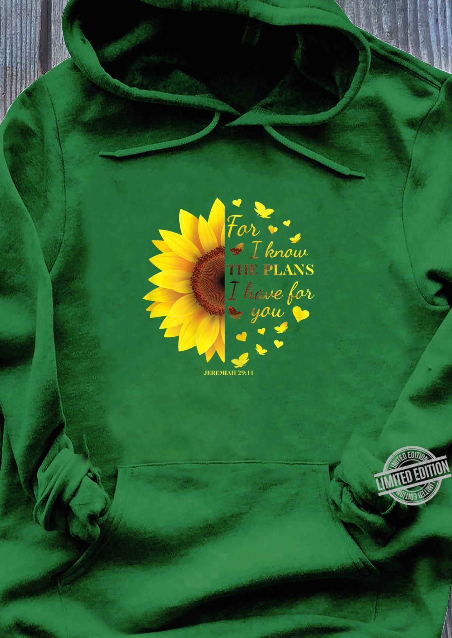 Jeremiah 2911s Cute Bible Verse Shirt hoodie