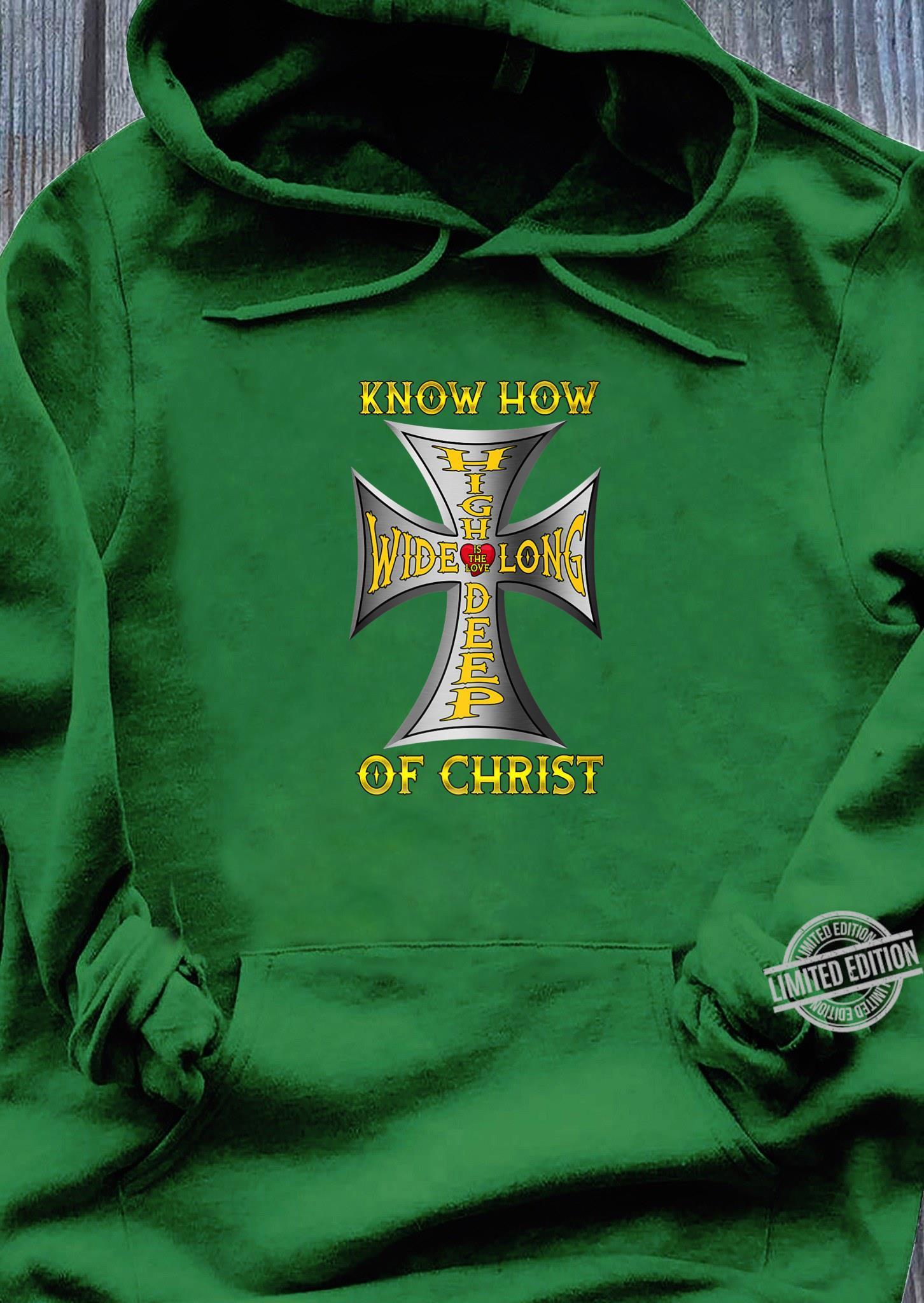Love Jesus Biker God Christ Love Motorcycle Cross Shirt hoodie