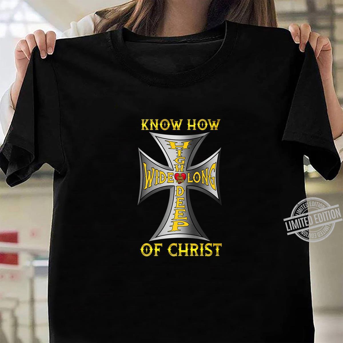 Love Jesus Biker God Christ Love Motorcycle Cross Shirt ladies tee