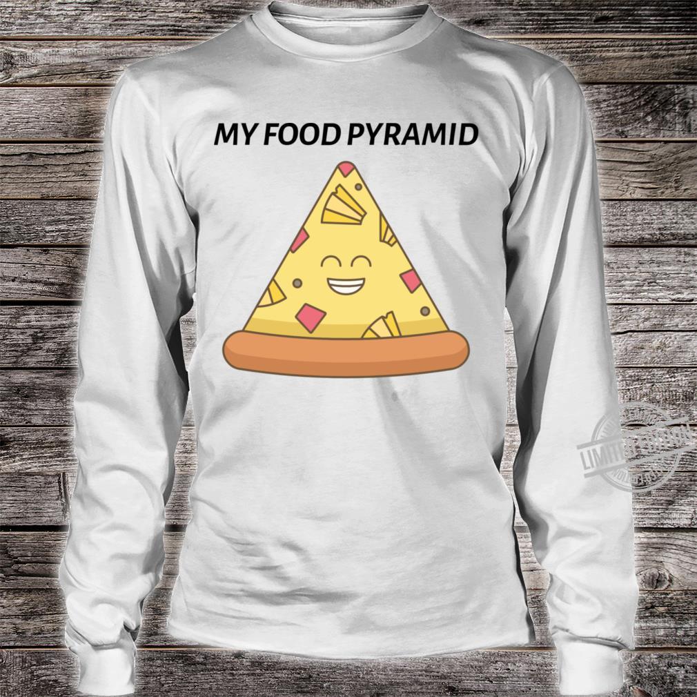 Pizza Shirt long sleeved