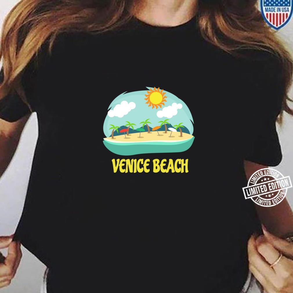 Venice Beach Family Vacation California Souvenir Shirt ladies tee