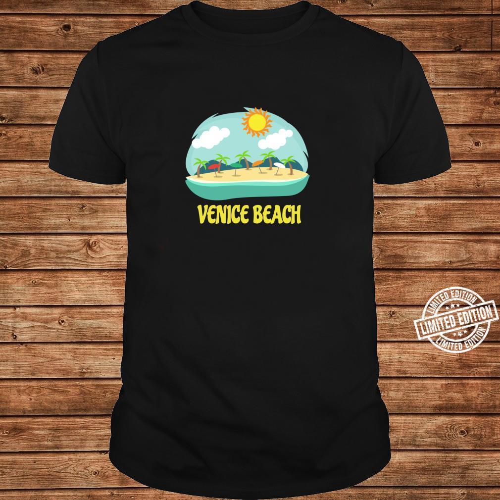 Venice Beach Family Vacation California Souvenir Shirt long sleeved